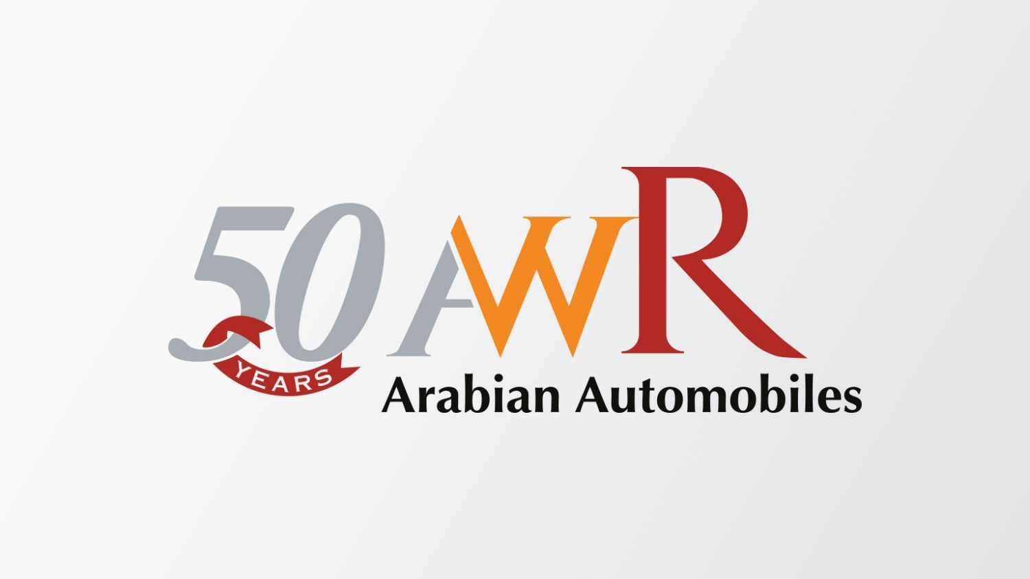 AW Rostamani 50 Years - Arabian Automobiles