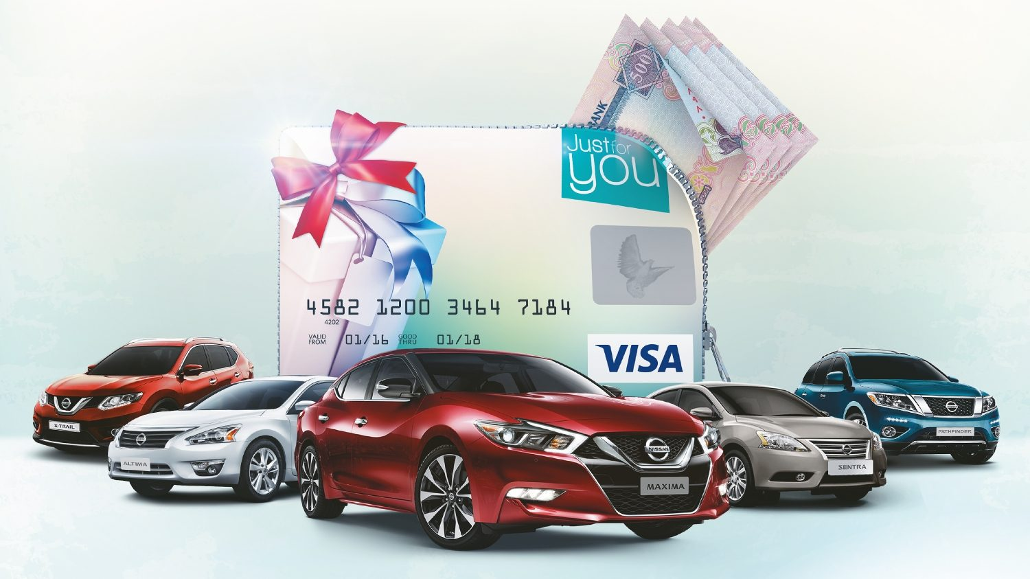 Nissan DSF Gift Yourself campaign