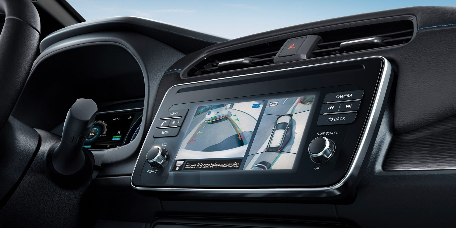 Nissan LEAF Intelligent Around View Monitor
