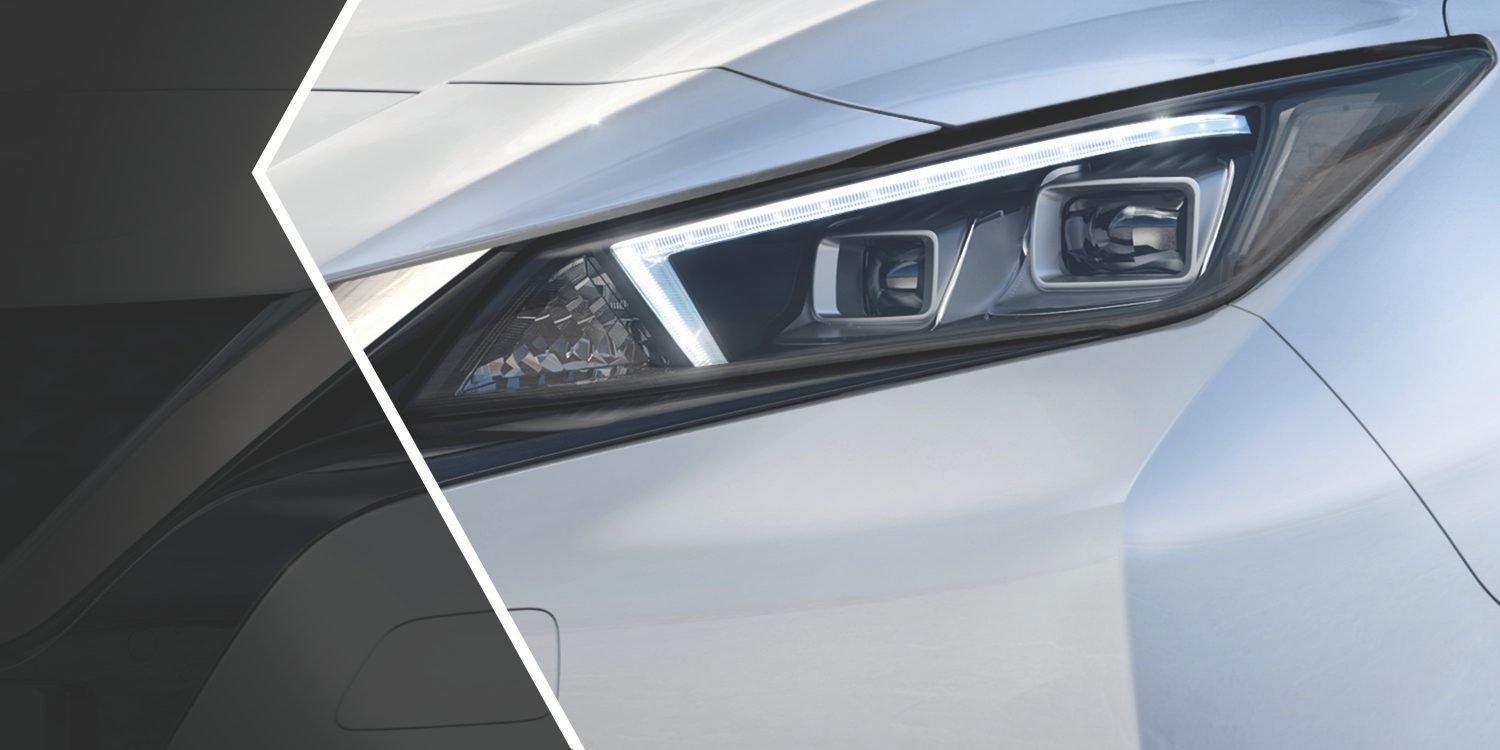 Nissan LEAF LED headlamps