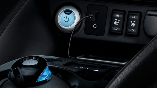 Nissan LEAF push button start