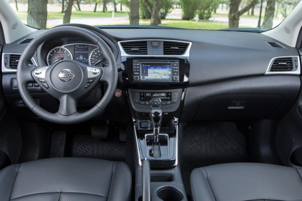 Tablero del nuevo Nissan Sentra
