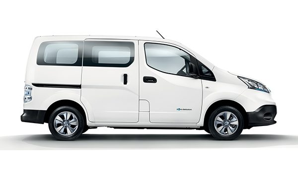 Nissan e-NV200 Evalia side