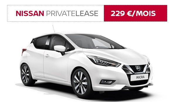 Nissan Private Lease MICRA