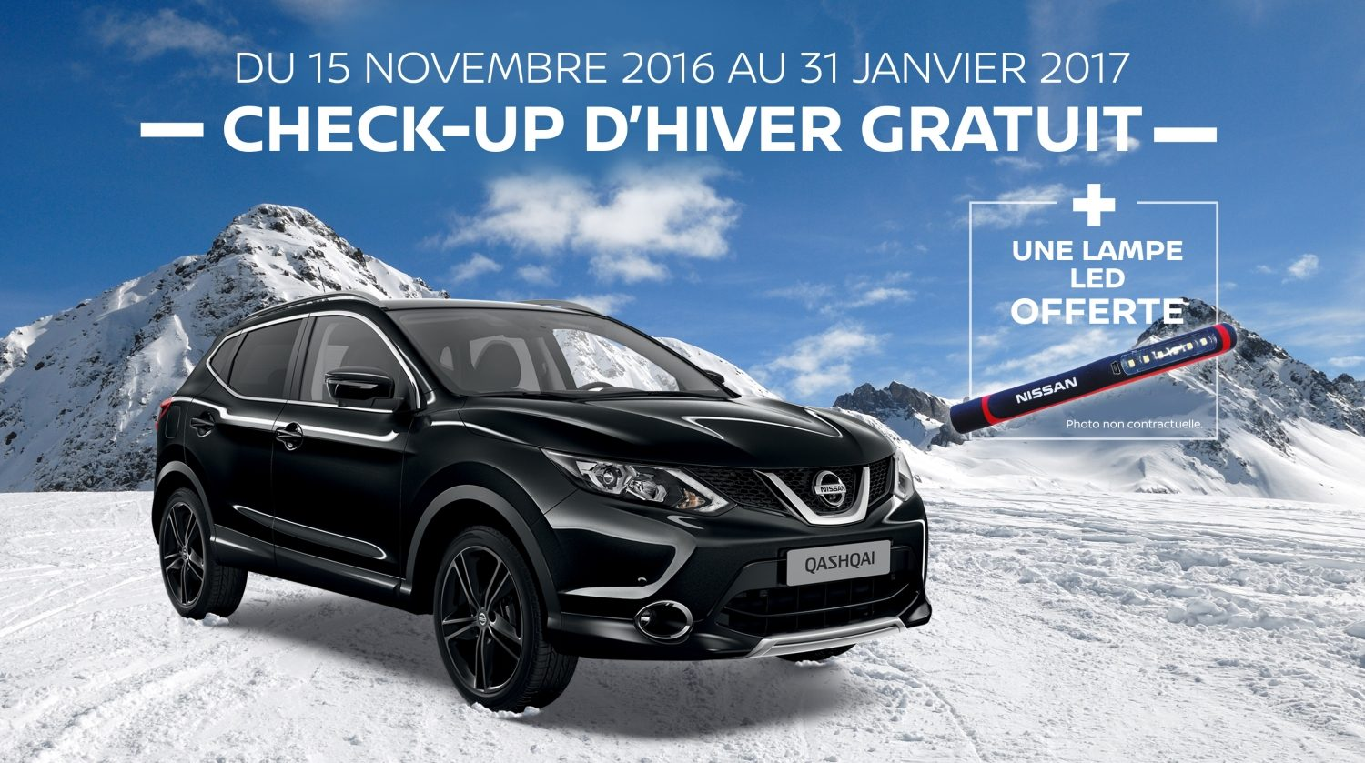 Nissan check-up d'hiver