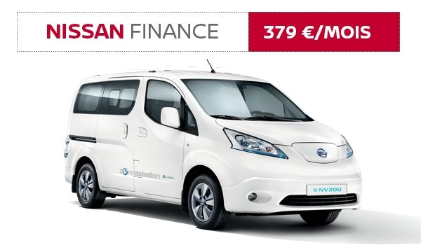 Nissan Finance e-NV200 Evalia