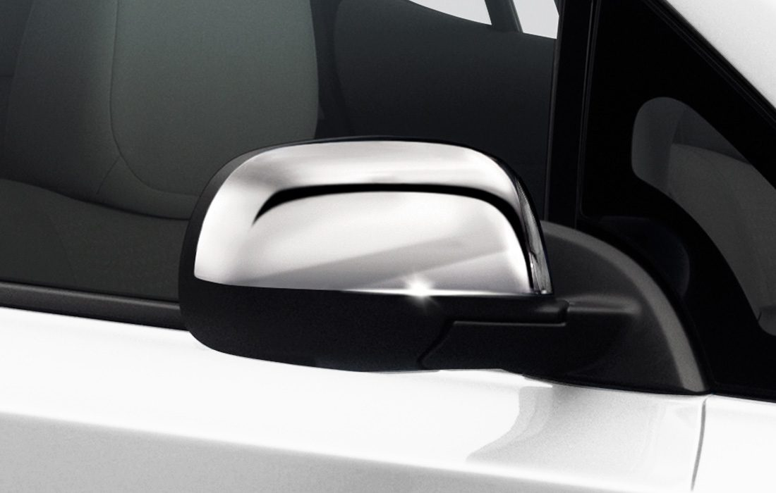 Nissan LEAF - Mirror caps chrome