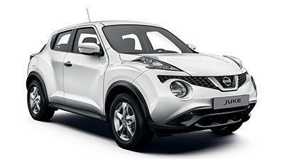 Nissan Juke Visia Pack - 3/4 front view