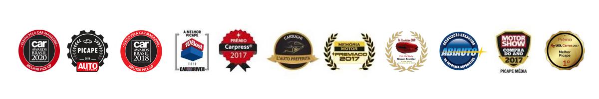 Premiações Nissan Frontier