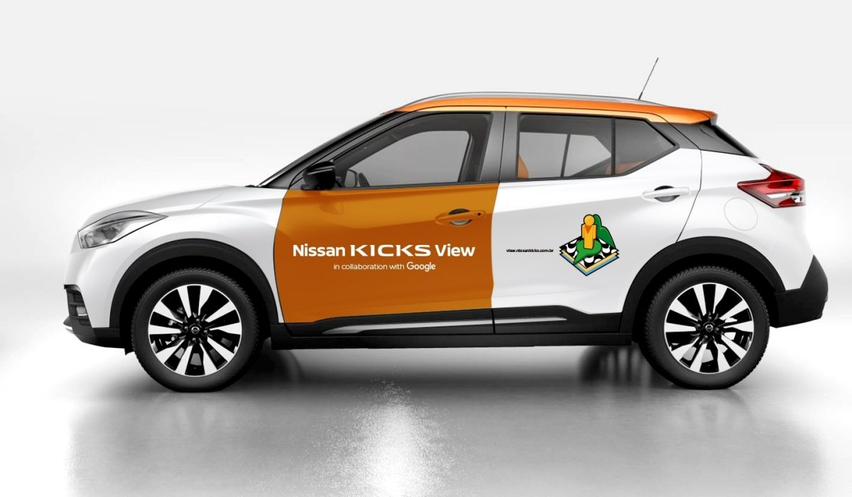O novo Nissan Kicks vai percorrer as ruas de Copacabana
