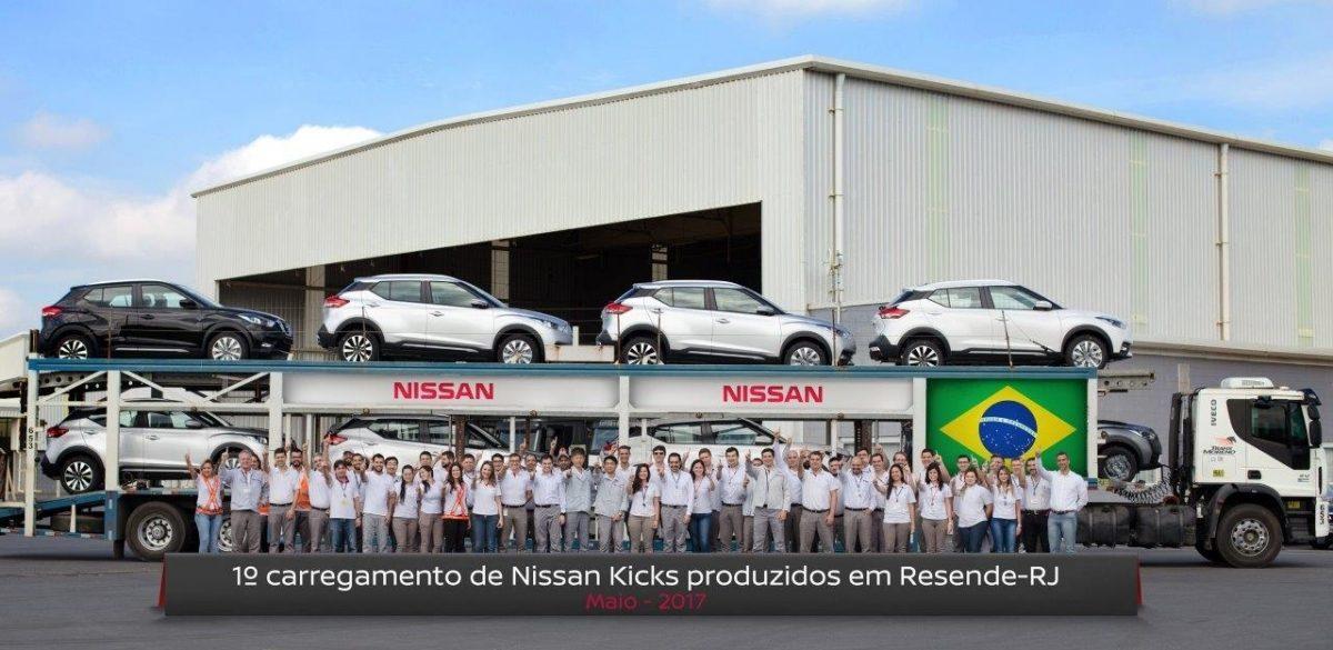 Nissan Kicks produzido em Resende (RJ) já está chegando