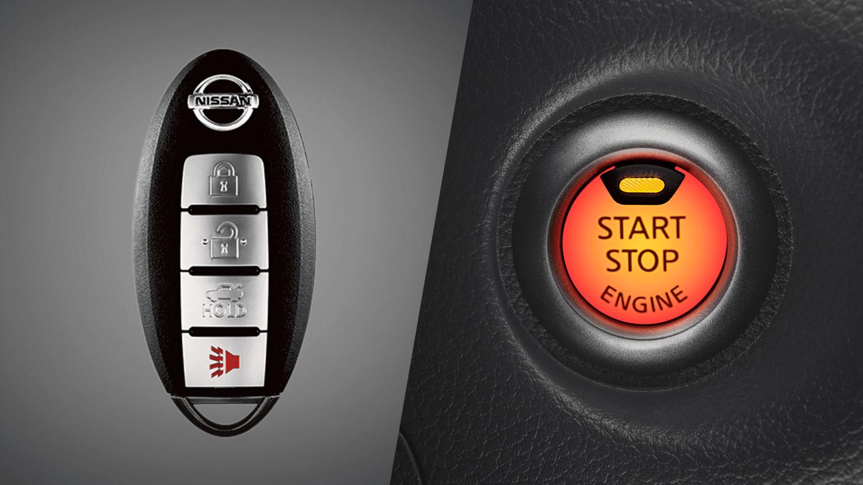 Chave inteligente (I-Key) e botão push start