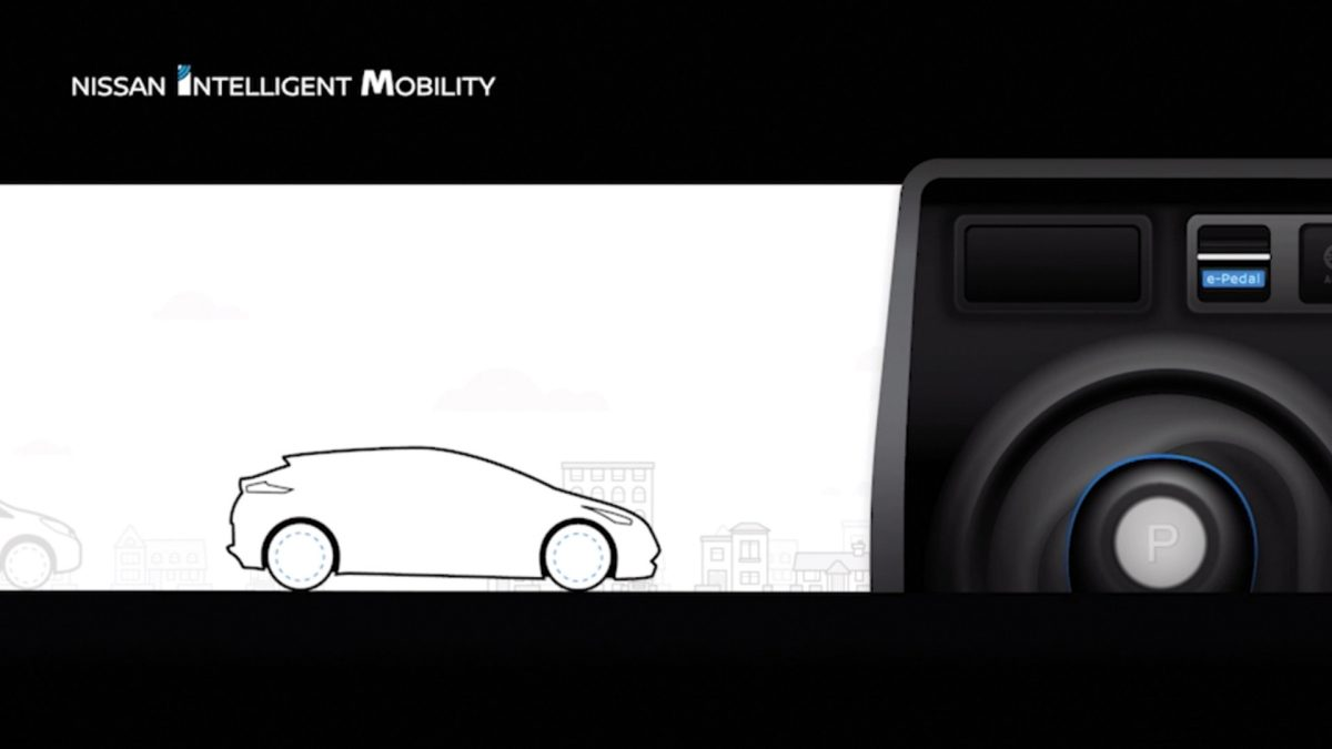 Nissan Leaf con E Pedal video explicativo