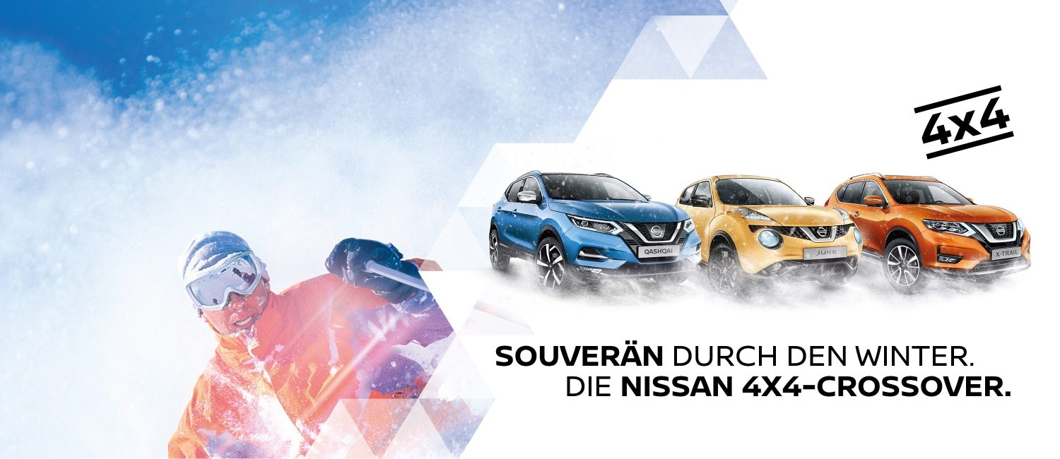 NISSAN Crossover Range winter