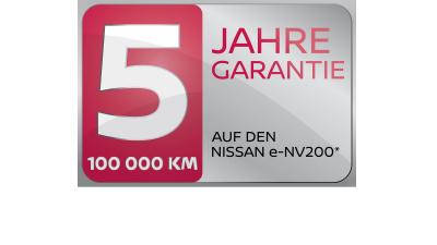 Five Year Warranty Logo CH-DE