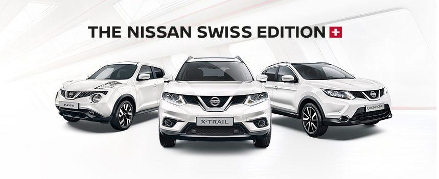 Nissan Swiss Edition