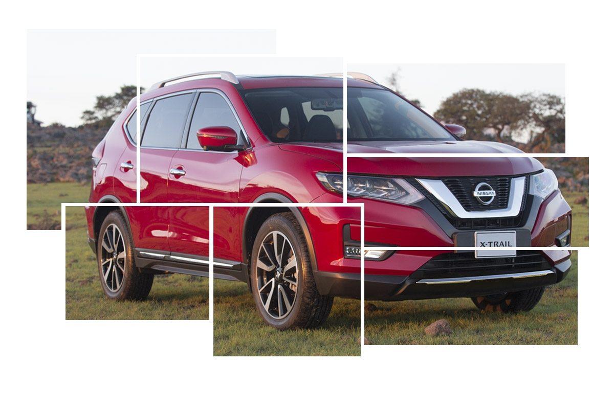 Nissan X-Trail Diseño exterior
