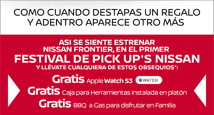 Festival de PICK UP´S Nissan