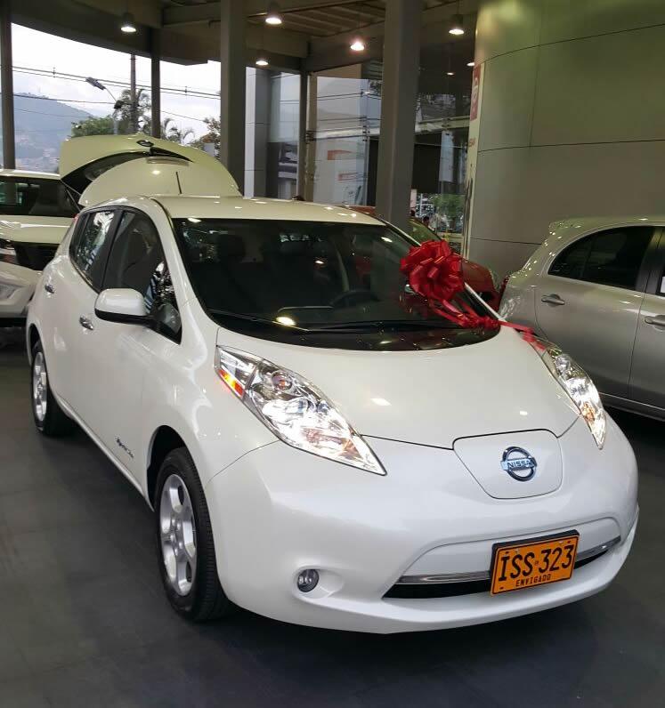 Nissan leaf 2020 colombia precio
