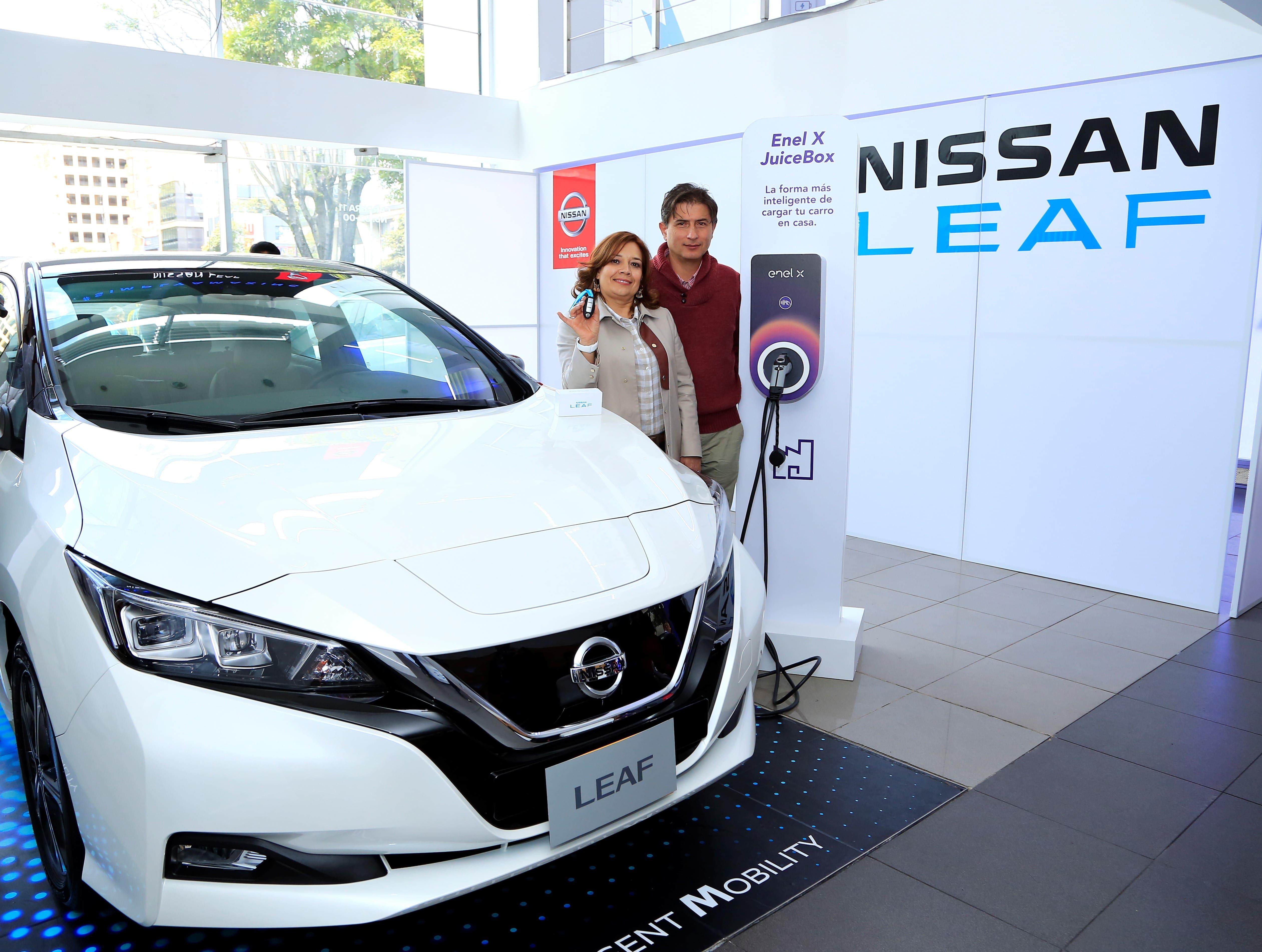 Nissan leaf 2019 precio colombia
