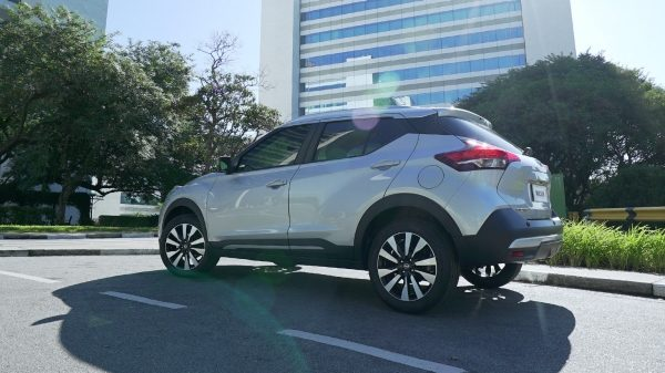 Nissan Kicks con Active Ride Control