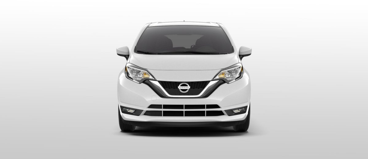 Nissan Note vista frontal