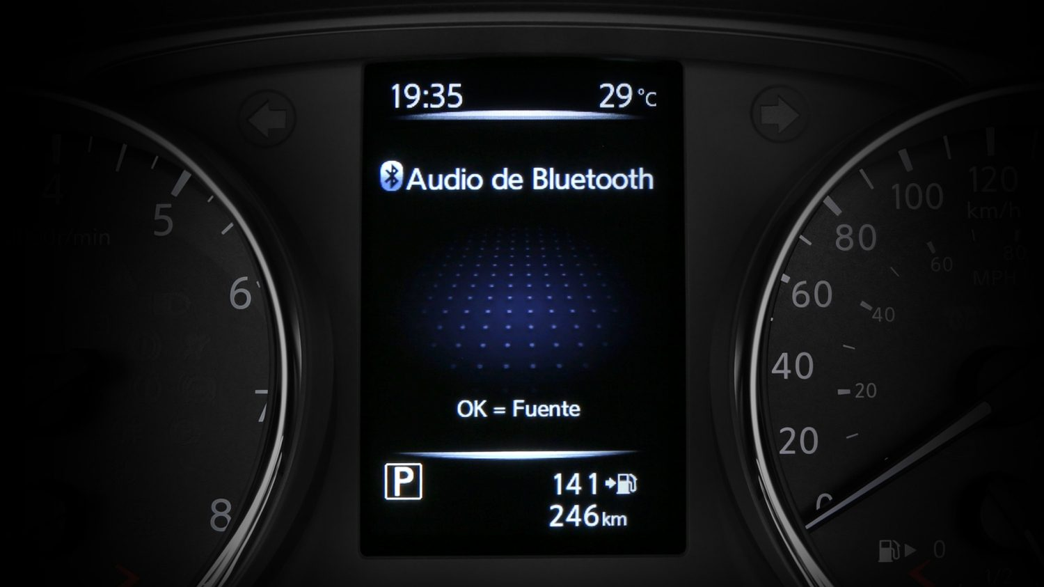 Nissan Qashqai -Audio Bluetooth