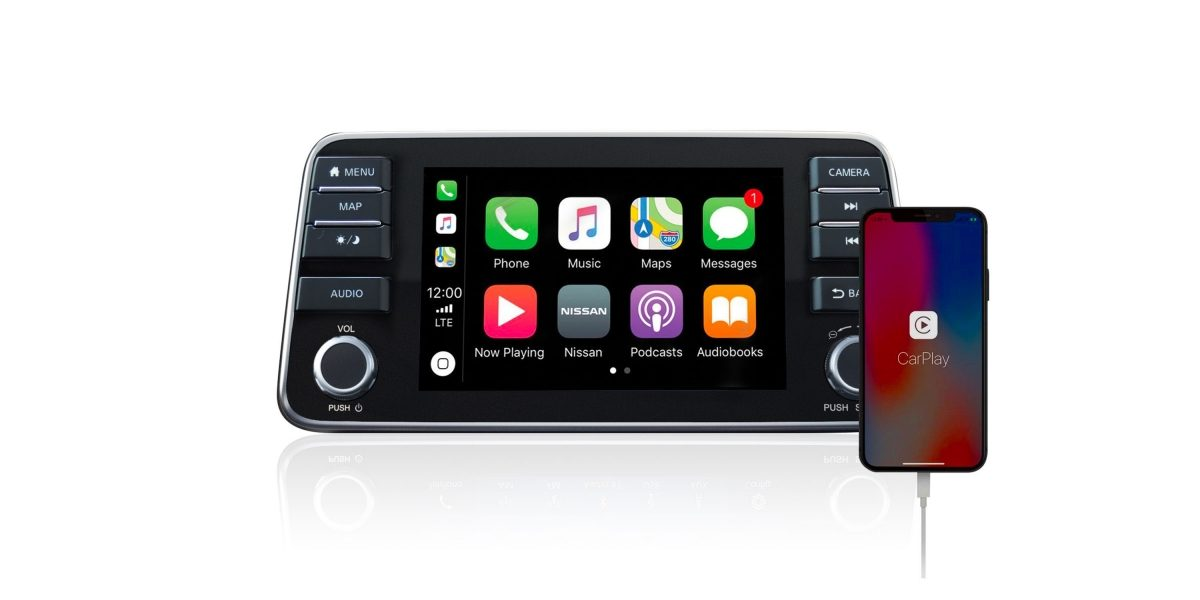 Nissan Versa Apple CarPlay