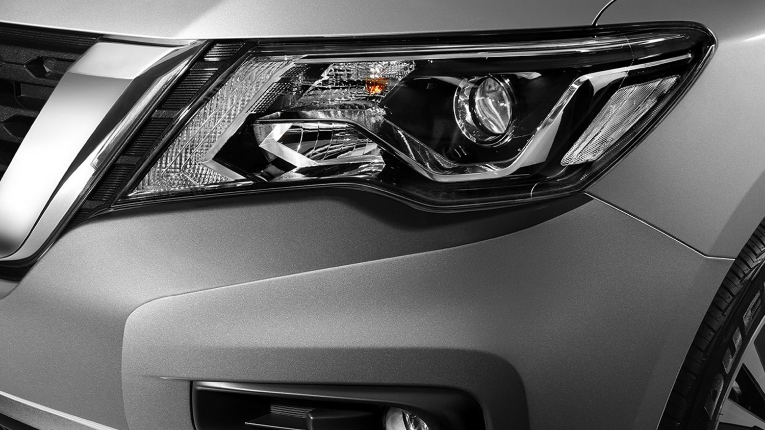 Nissan Pathfinder daytime running lights