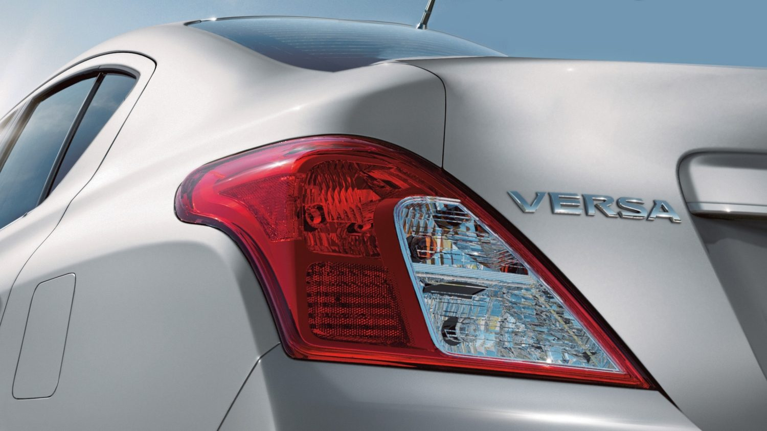 Nissan Versa tail lamps