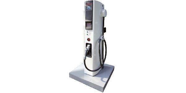 New Nissan LEAF quick charging station