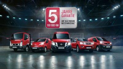5 Jahre Garantie auf Nutzfahrzeuge