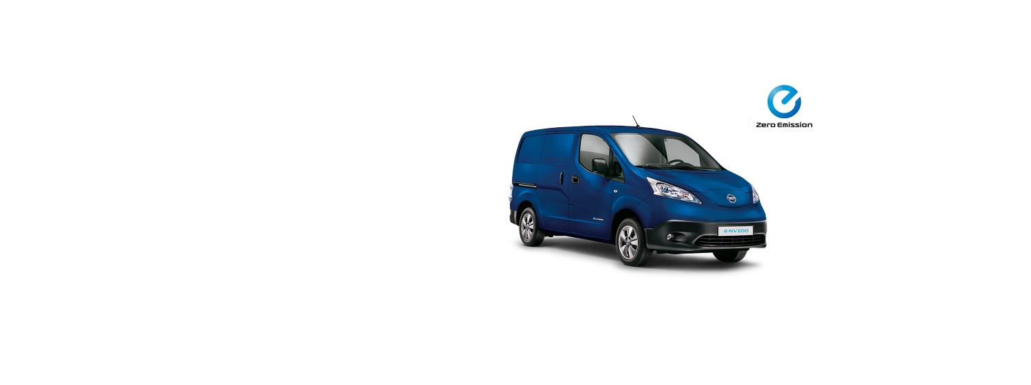 Nissan e-NV200 - Majestic Blue