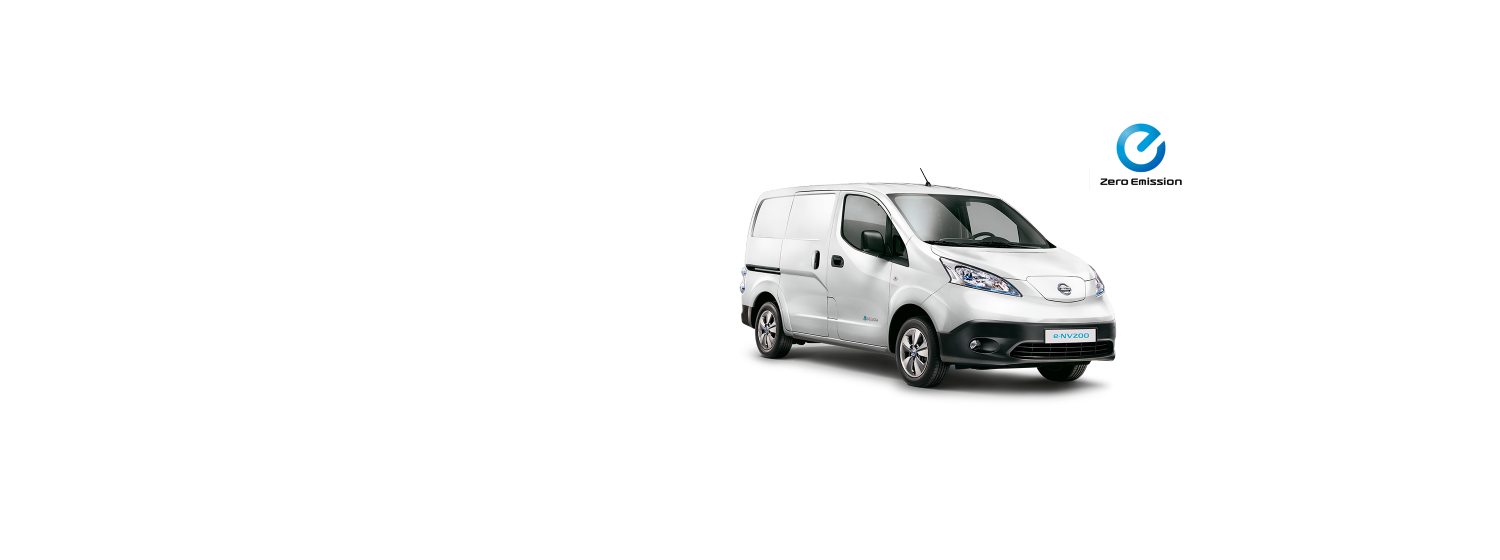 e-NV200 - Solid White (S)