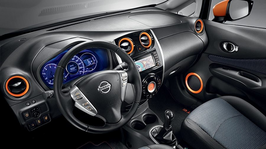 NISSAN NOTE – Personalisieren – Farbe