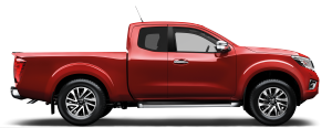 Nissan Navara - Side view
