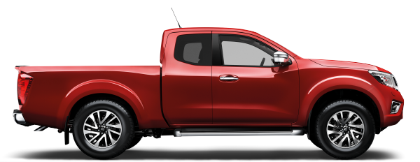 Nissan Navara - Side view