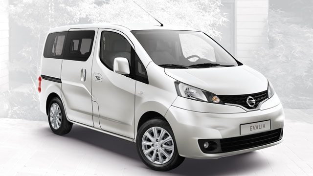 NISSAN EVALIA – ATTRAKTVES DESIGN