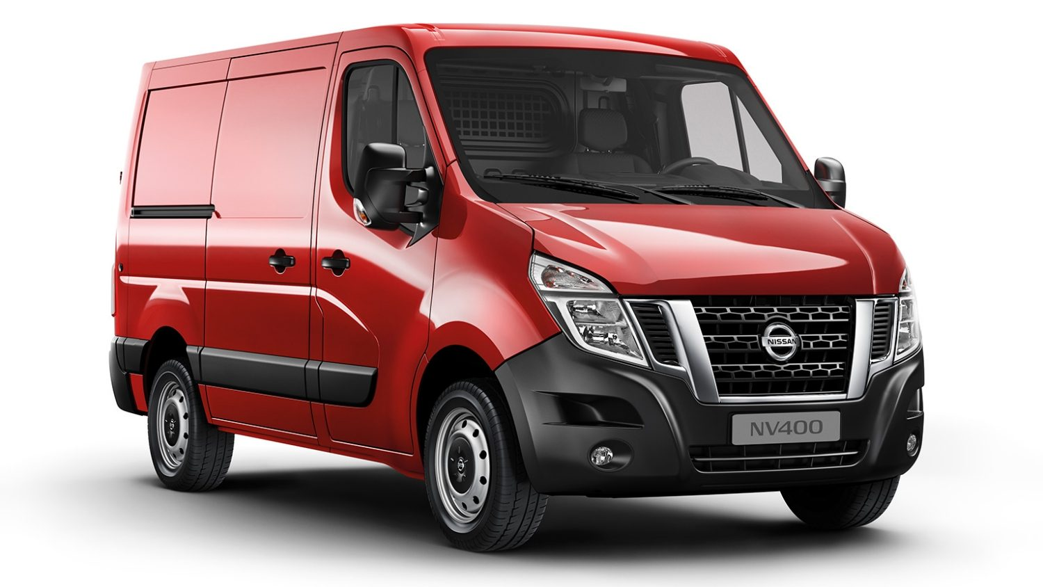 Nissan NV400 Van Working Star - 3/4 front view