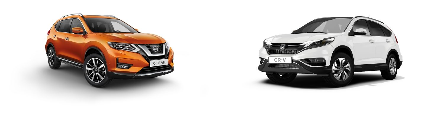 NISSAN X-Trail vs Honda cr v