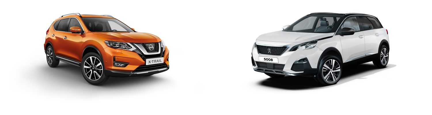 NISSAN X-Trail vs Peugeot 5008