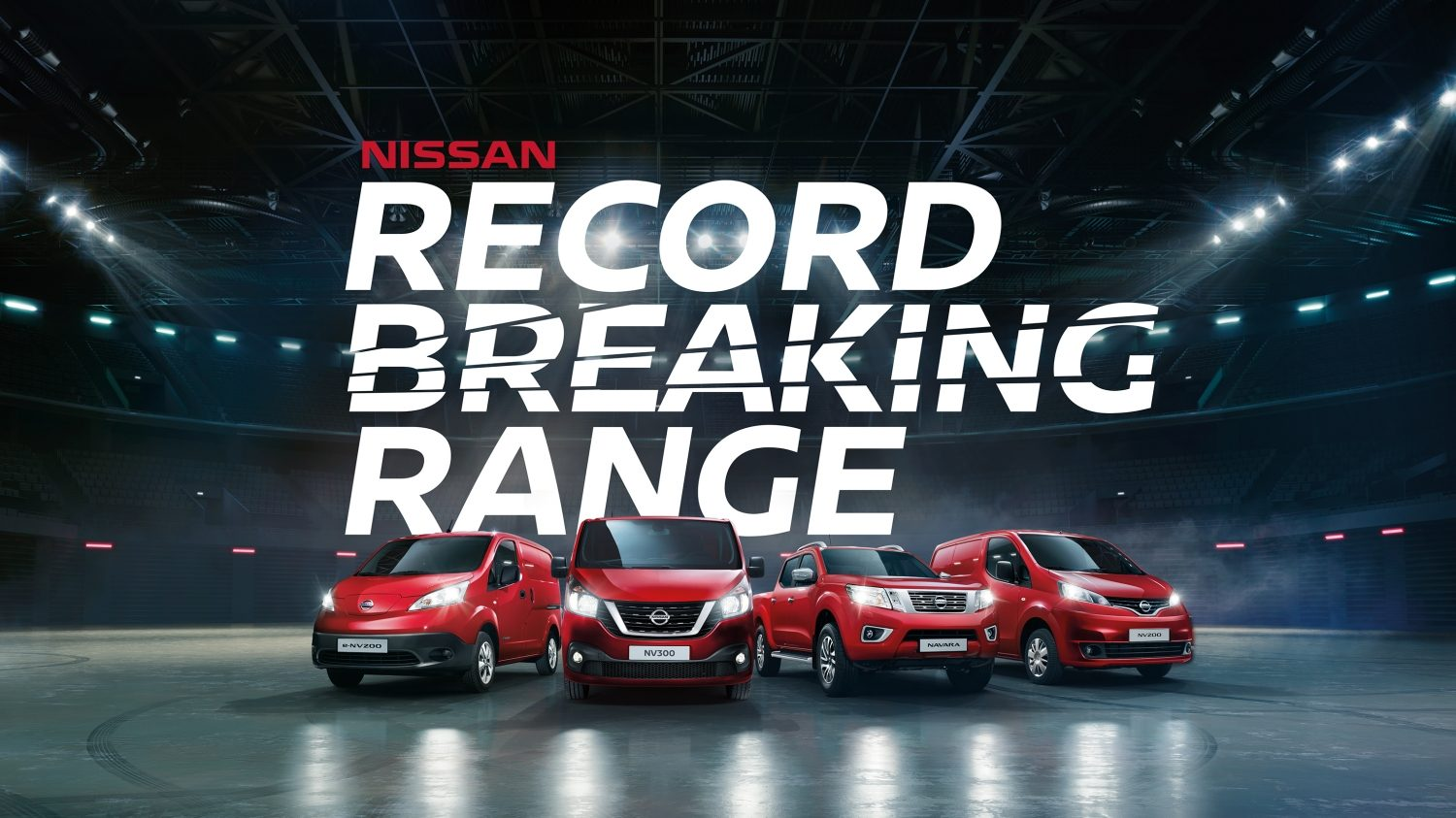 Nissan, the record breaking range