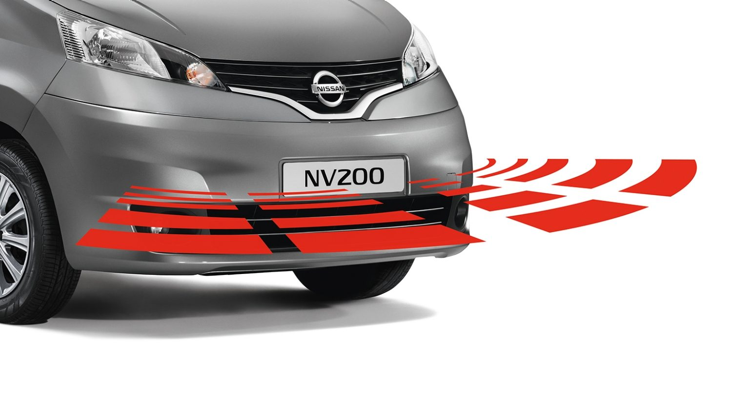 Nissan Evalia - Safety - Front parking system