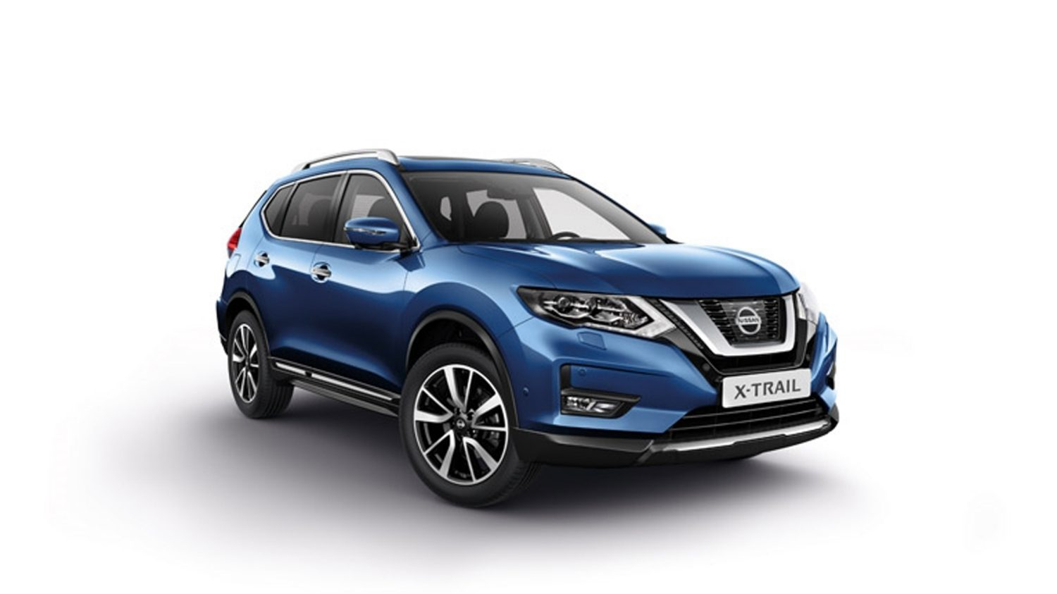 Nissan X-TRAIL, plano frontal completo