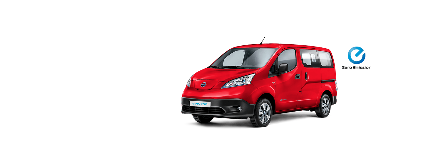 e-NV200 - ROJO SOLIDO