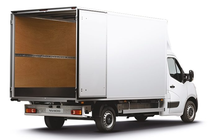 NISSAN NV400 BOX VAN