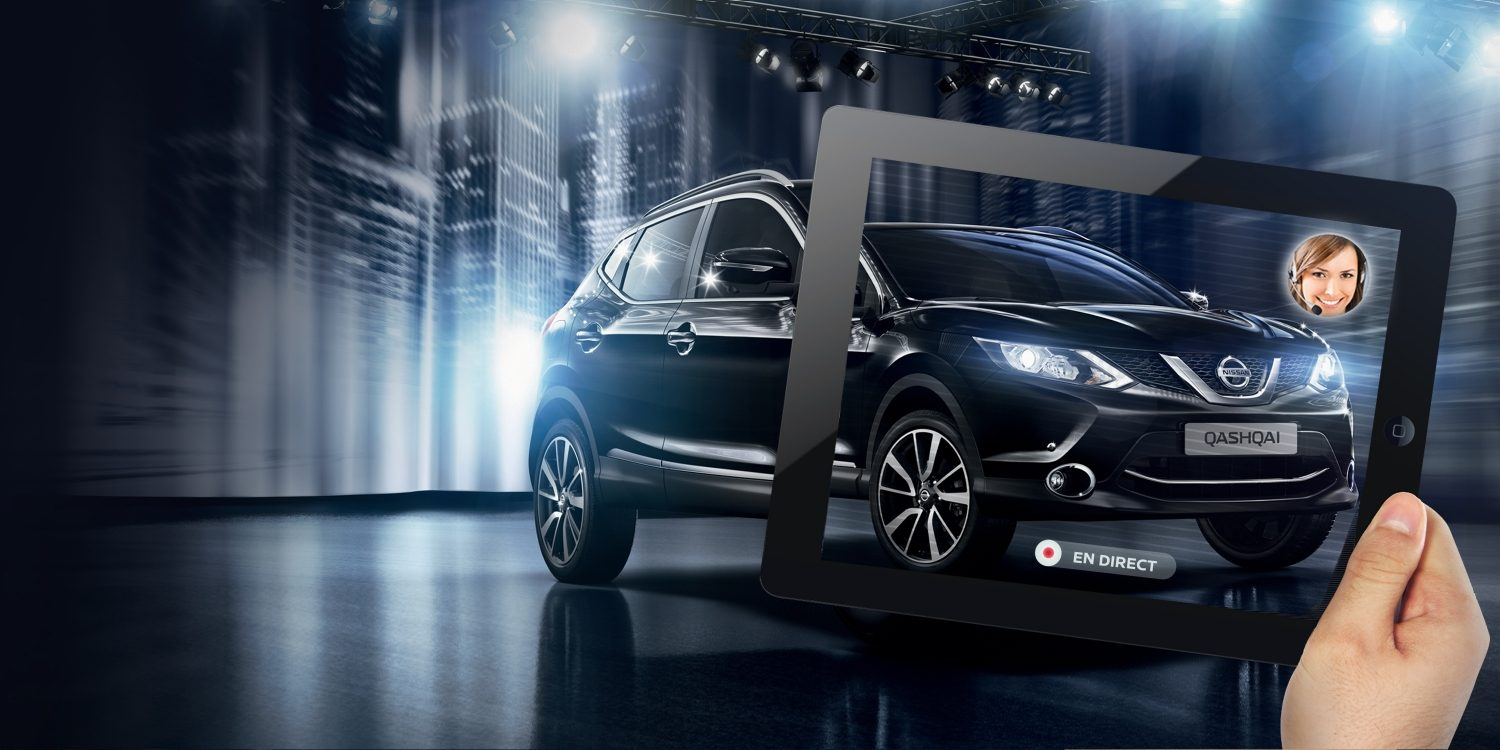 Qashqai Digital Showroom