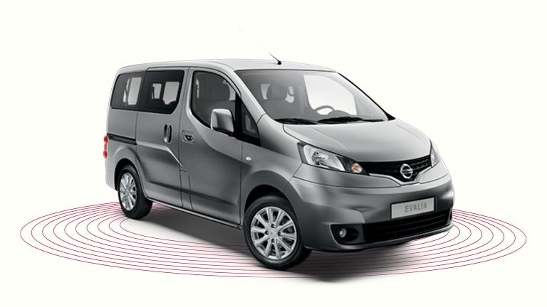 offres nissan evalia monospace 7 places nissan. Black Bedroom Furniture Sets. Home Design Ideas