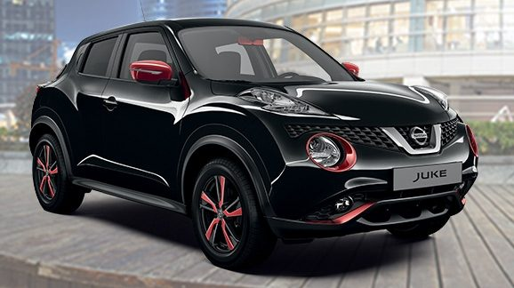 prix caract ristiques nissan juke petit suv nissan. Black Bedroom Furniture Sets. Home Design Ideas