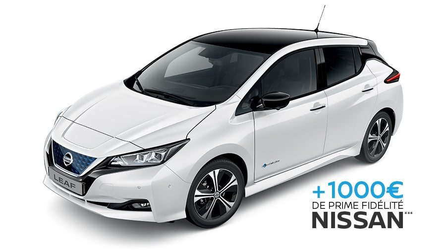 offres nouvelle nissan leaf voiture lectrique citadine nissan. Black Bedroom Furniture Sets. Home Design Ideas